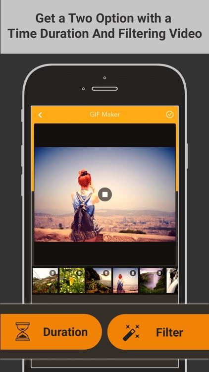 Gif Maker - GIF World screenshot-3