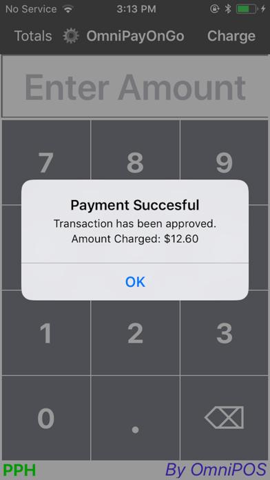 OmniPayOnGo Screenshot on iOS
