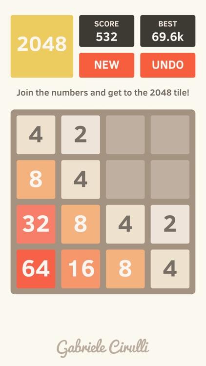 2048 by Gabriele Cirulli screenshot-0