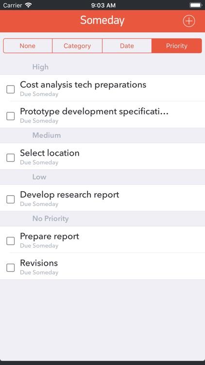 GTD Office: Tasks & Calendar screenshot-5