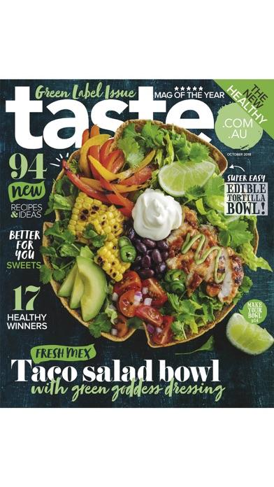 Tastecomau Magazine review screenshots