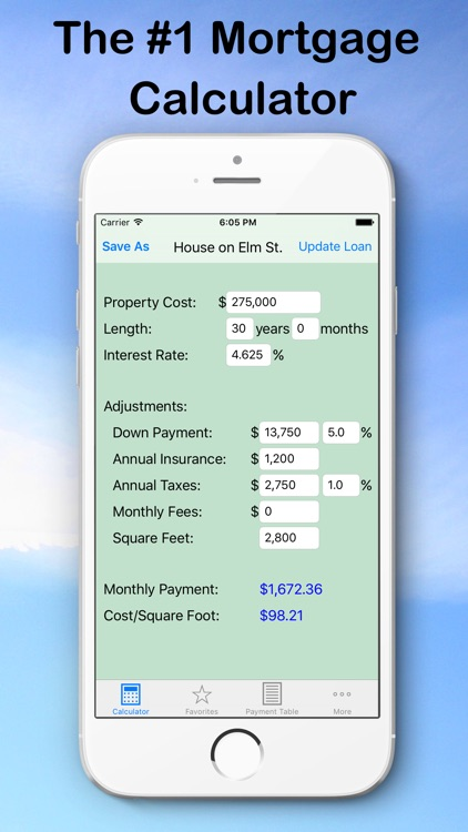 Mortgage Calculator from MK