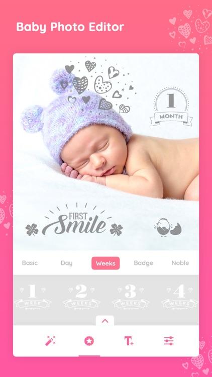 Baby photo editor & Art Maker screenshot-6
