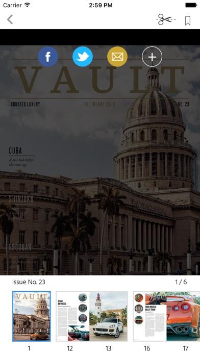 Vault (Magazine) screenshot 2