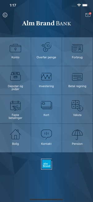 Alm. Brand Mobilbank on the App Store