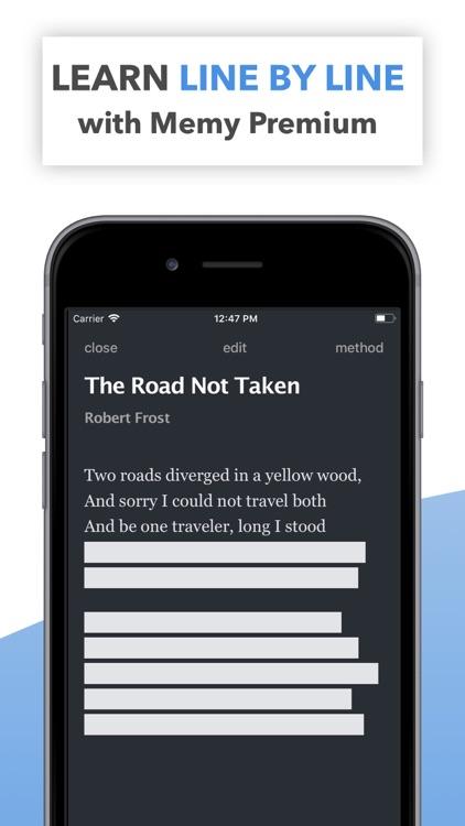 Memy – Memorize texts, lyrics screenshot-7