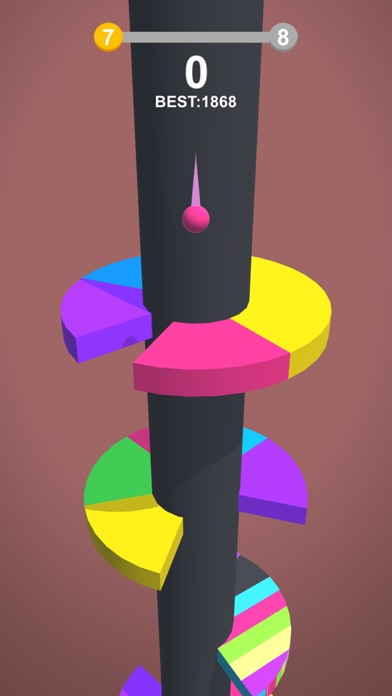 Color Ball: Hit The Same Color Screenshot on iOS