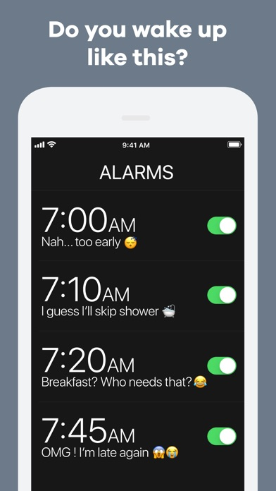 Kiwake - Extreme Alarm Clock Screenshots