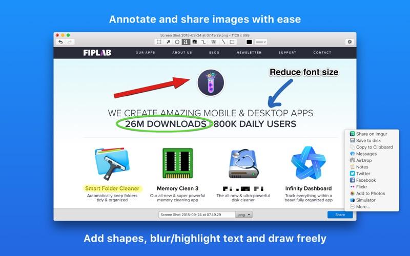 Share Bucket - Image Sharing скриншот программы 1