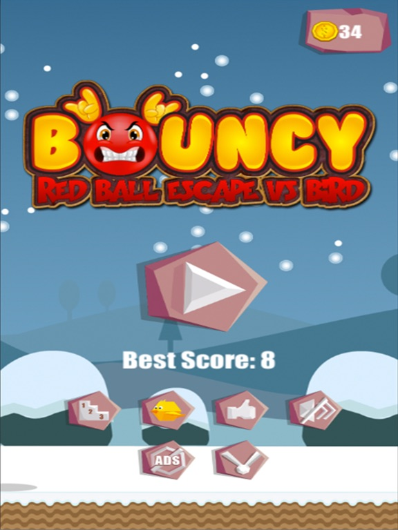 Bouncy Red Ball Game-ipad-0