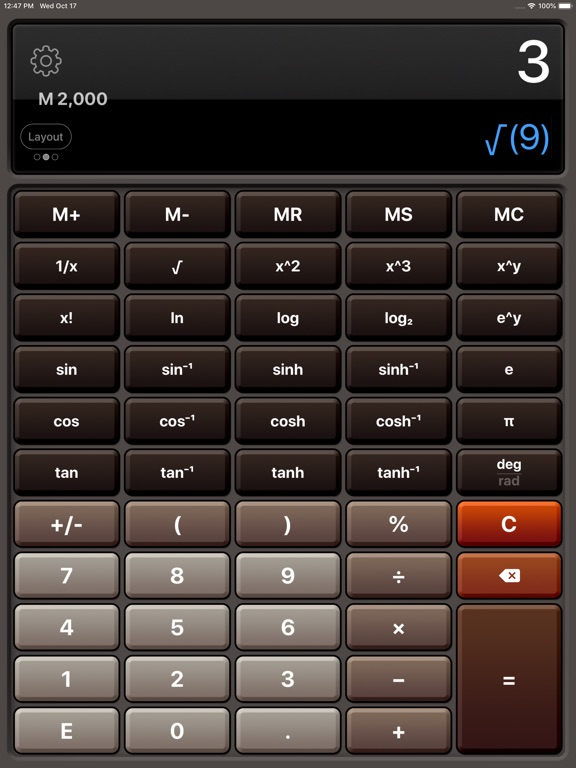 Calculator HD Pro Screenshots