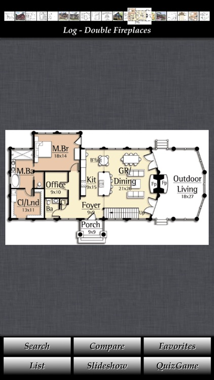 Log House Design - House Plans screenshot-0