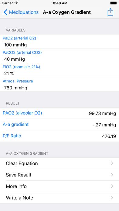 Mediquations screenshot two