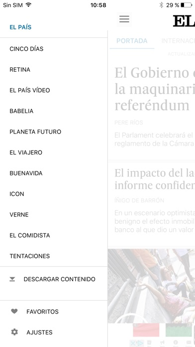 EL PAÍS screenshot four