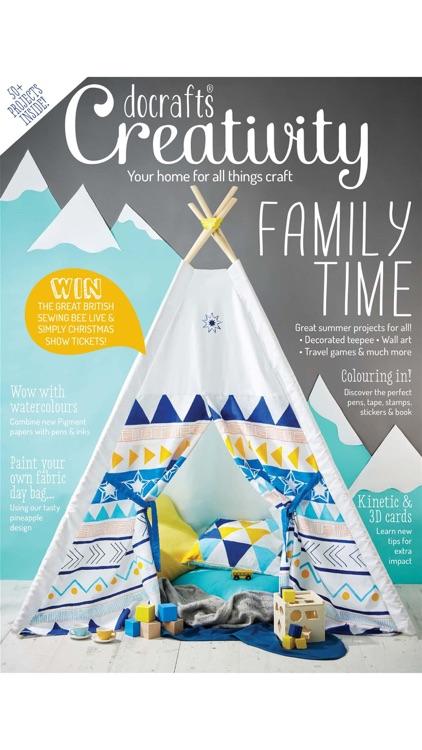 docrafts Creativity Magazine - Your source of creative inspiration