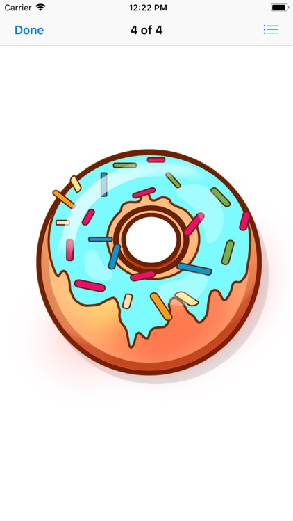 Decadent Donut Stickers screenshot-5
