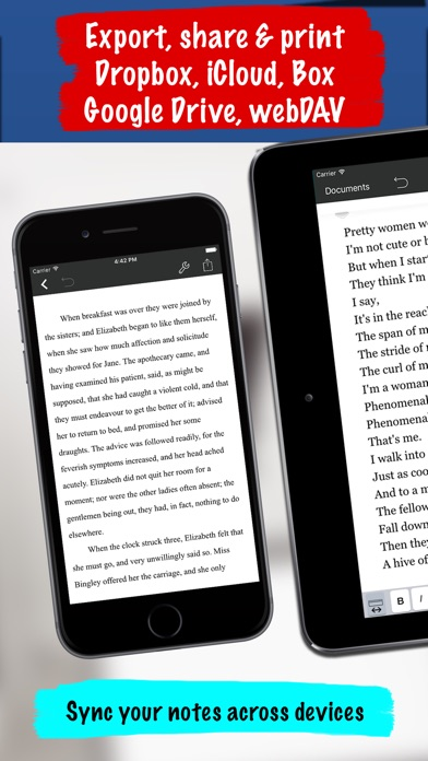 Notes Writer Pro - Sync &Share screenshot 6
