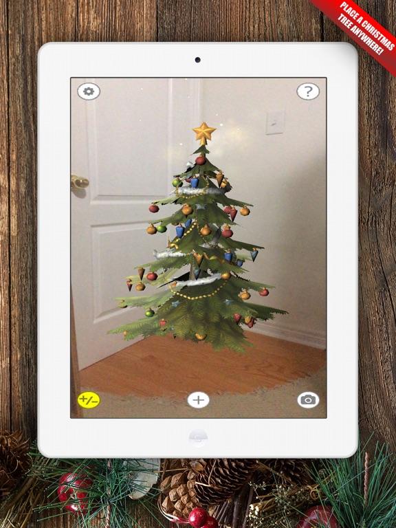 Screenshot #1 for Augmented AR Christmas Tree ...