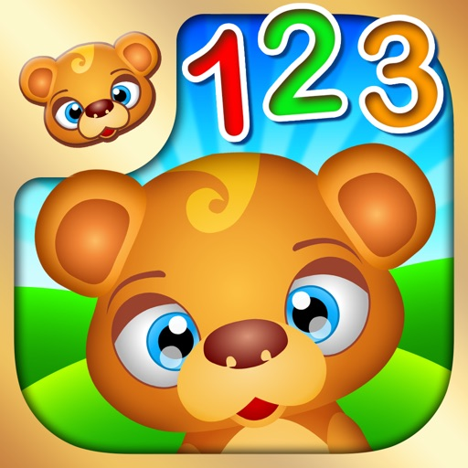 123 Kids Fun NUMBERS - Top Fun Math Games for Kids Icon
