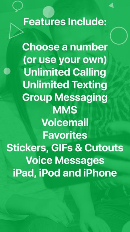 textPlus: Unlimited Text+Calls screenshot-4