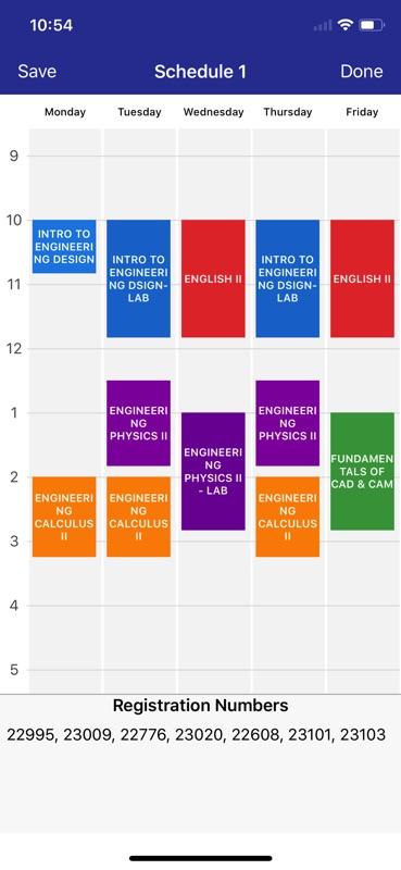 college schedule builder online hack tool online weekly class