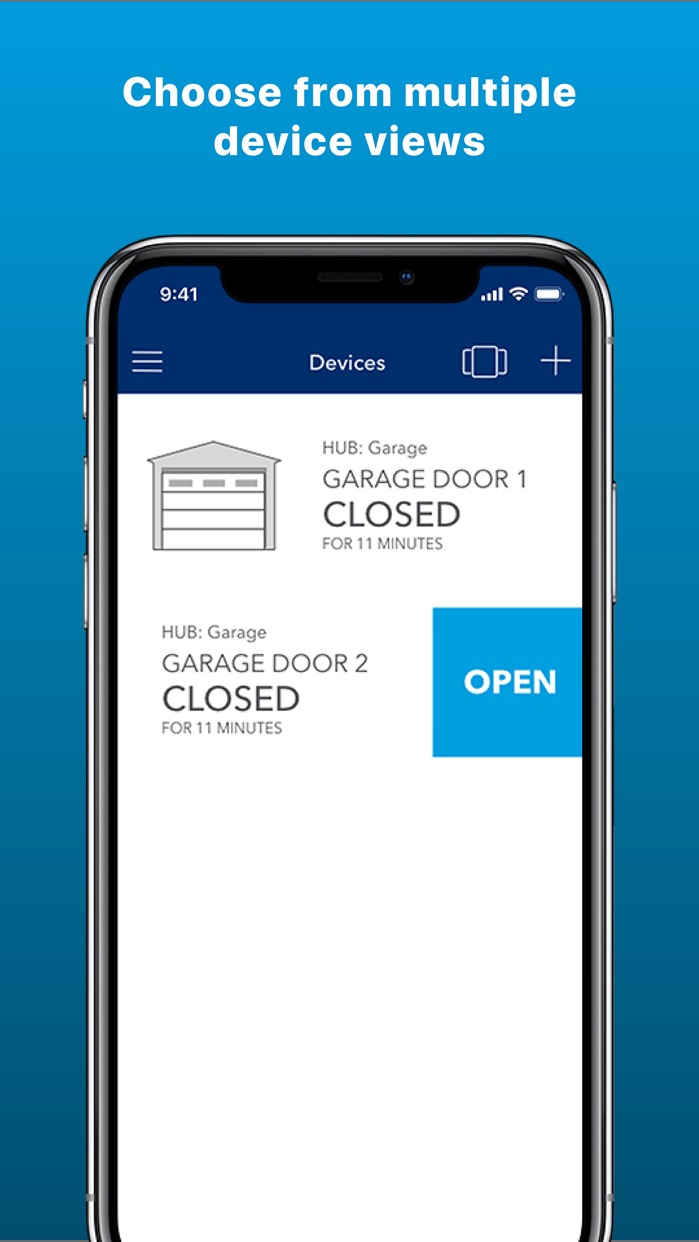 MyQ Smart Garage Control Screenshot