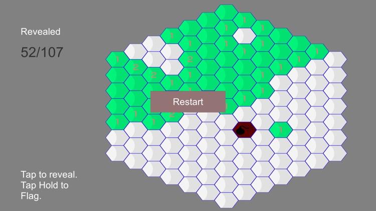 Hexagonal Minesweeper