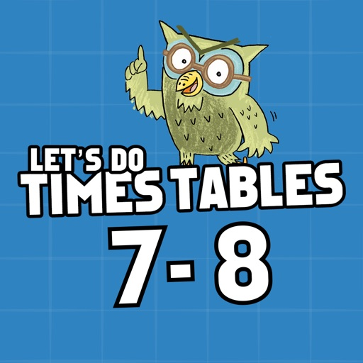 Times Tables Ages 7-8