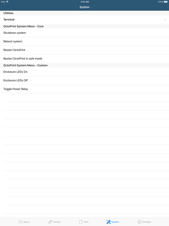 OctoClient for OctoPrint on the App Store