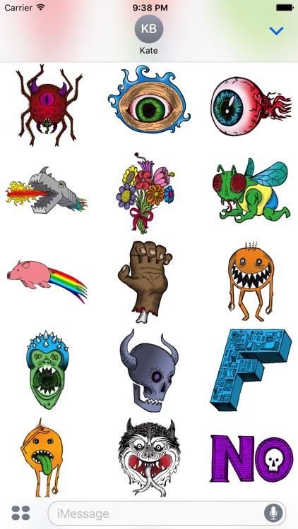 SR Random Stickers