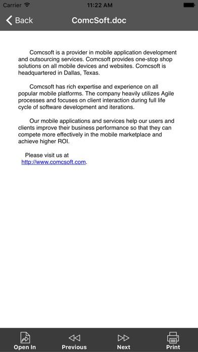 iZip Pro for iPhone screenshot1