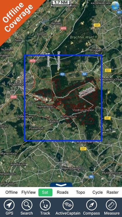 Meinweg National Park GPS and outdoor map screenshot-4