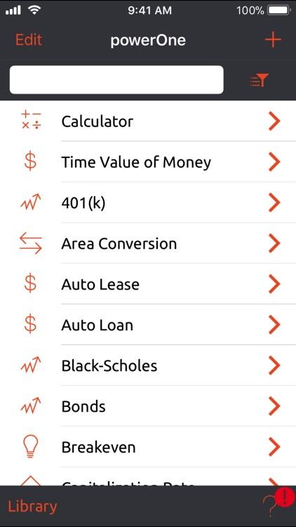 powerOne Finance Pro screenshot-3