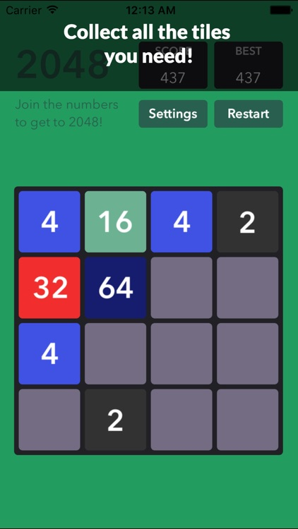 1048 Number Puzzle game