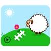 Animated Fluffy Sheep Sticker