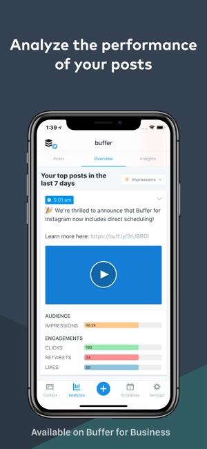 Buffer: Social Media Manager Screenshot