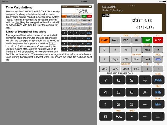 Scientific Calculator SC-323PU Скриншоты9