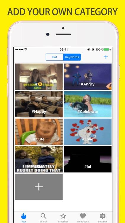 Adult Gif Keyboard Flirt Emoji screenshot-4