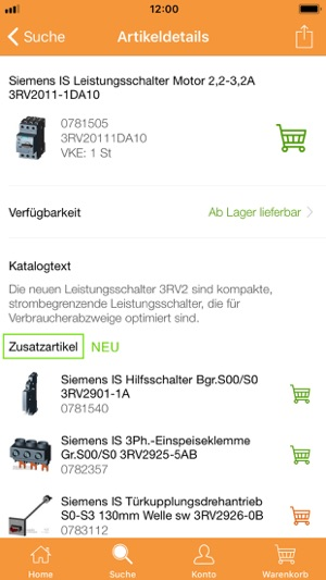 Sonepar-Shop im App Store