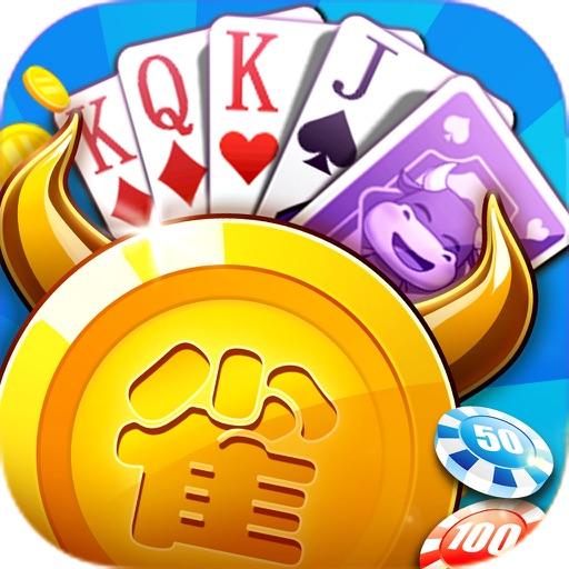 人民棋牌扑克圈 app logo
