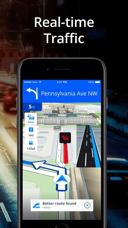 Sygic GPS Navigation & Maps screenshot-3
