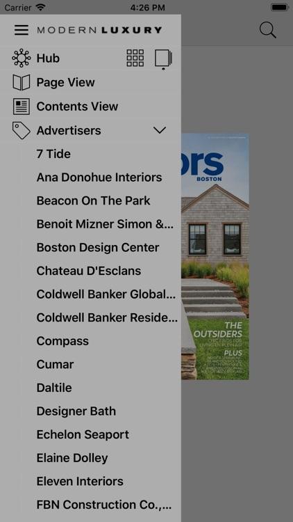 Modern Luxury Interiors Boston screenshot-3