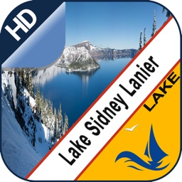 Lake Sidney Lanier gps offline chart for boaters