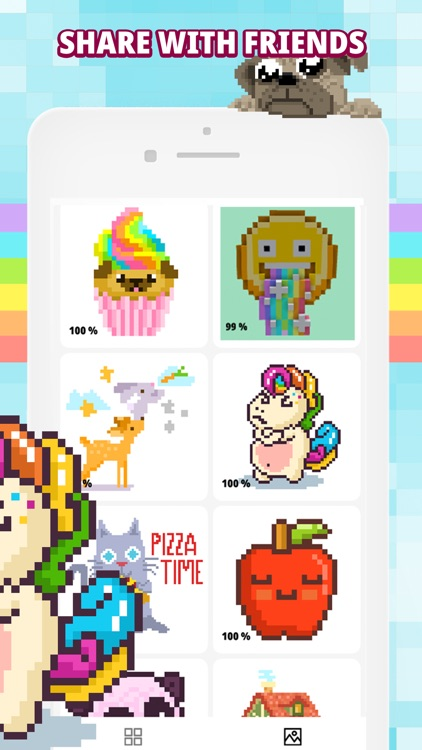 TaDaa : Color by Number Pixel screenshot-4