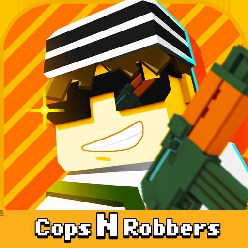 ピクセル シューティング: Cops N Robbers