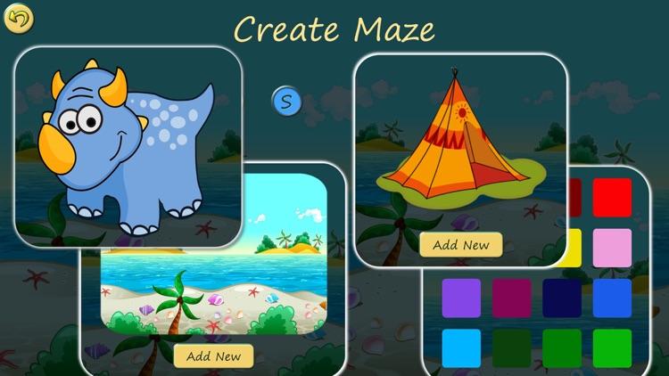 Dino Maze: Dinosaur kids games screenshot-4