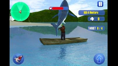 鮫 復讐 攻撃 シム 3Dのスクリーンショット2