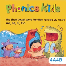 Phonics Kids教材4A4B -英语自然拼读王