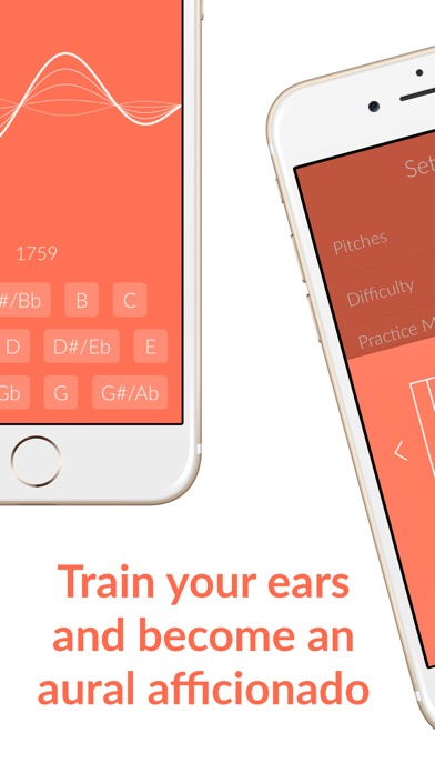 Tone - Perfect Pitch Training Screenshots