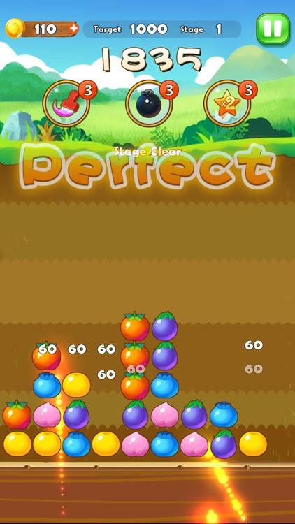Puzzle Fruit - Tap Block Games screenshot-3